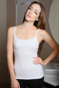 padded cami white for small busted women