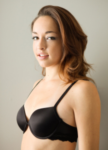 Lightly padded bra for small bust