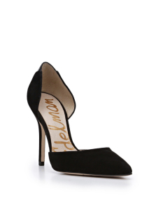 black pumps holiday fashion