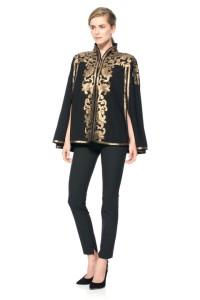 metallic jacket holiday fashion