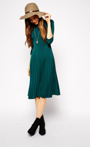 green dress Holiday Fashion