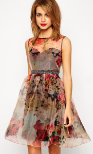 floral dress Holiday Fashion